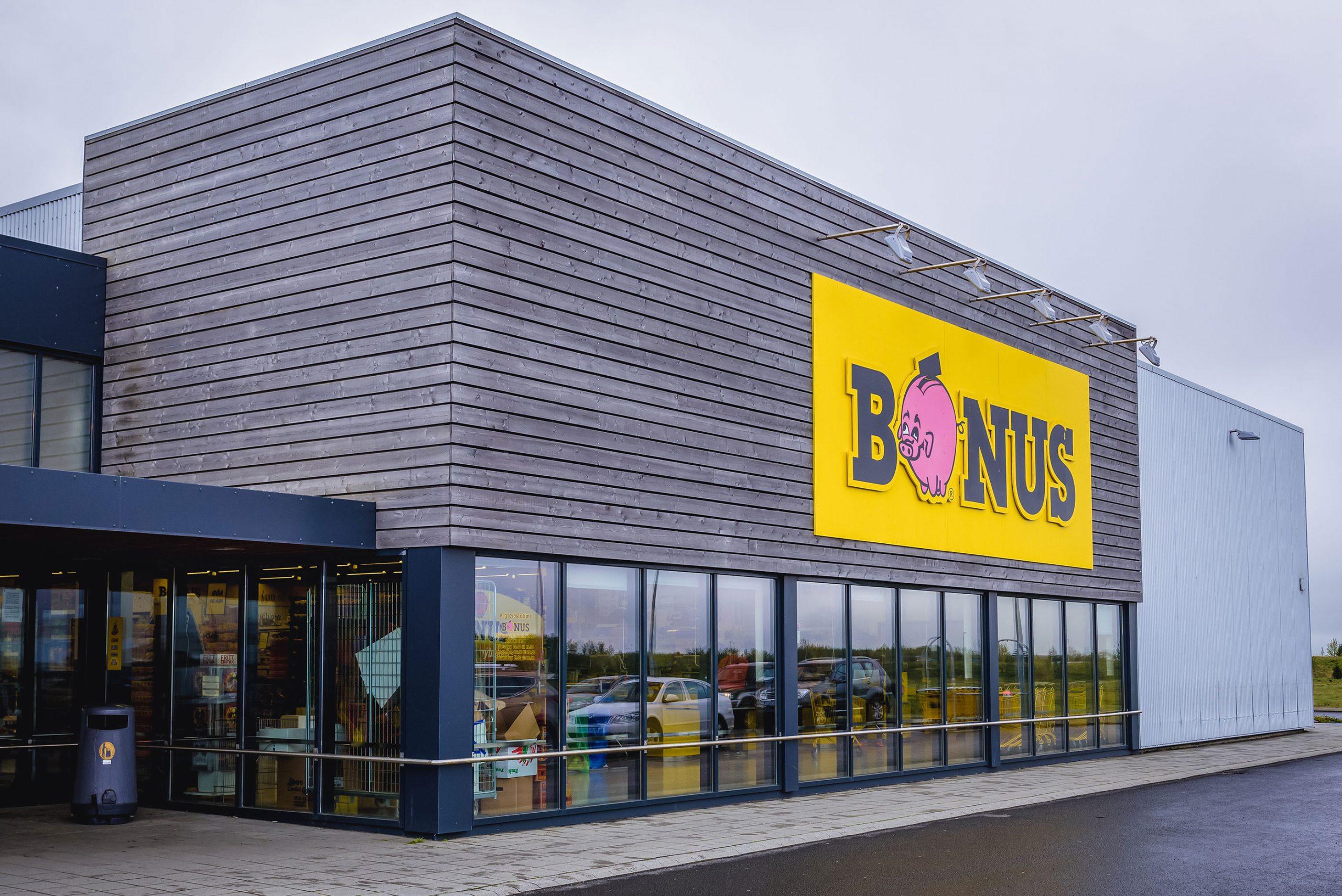 Bonus butikk Reykjavik Island hvor kjope lammekjott lammesadel