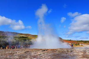 Geysir Strokkur Island Reykjavik Golden Circle severdighet attraksjon