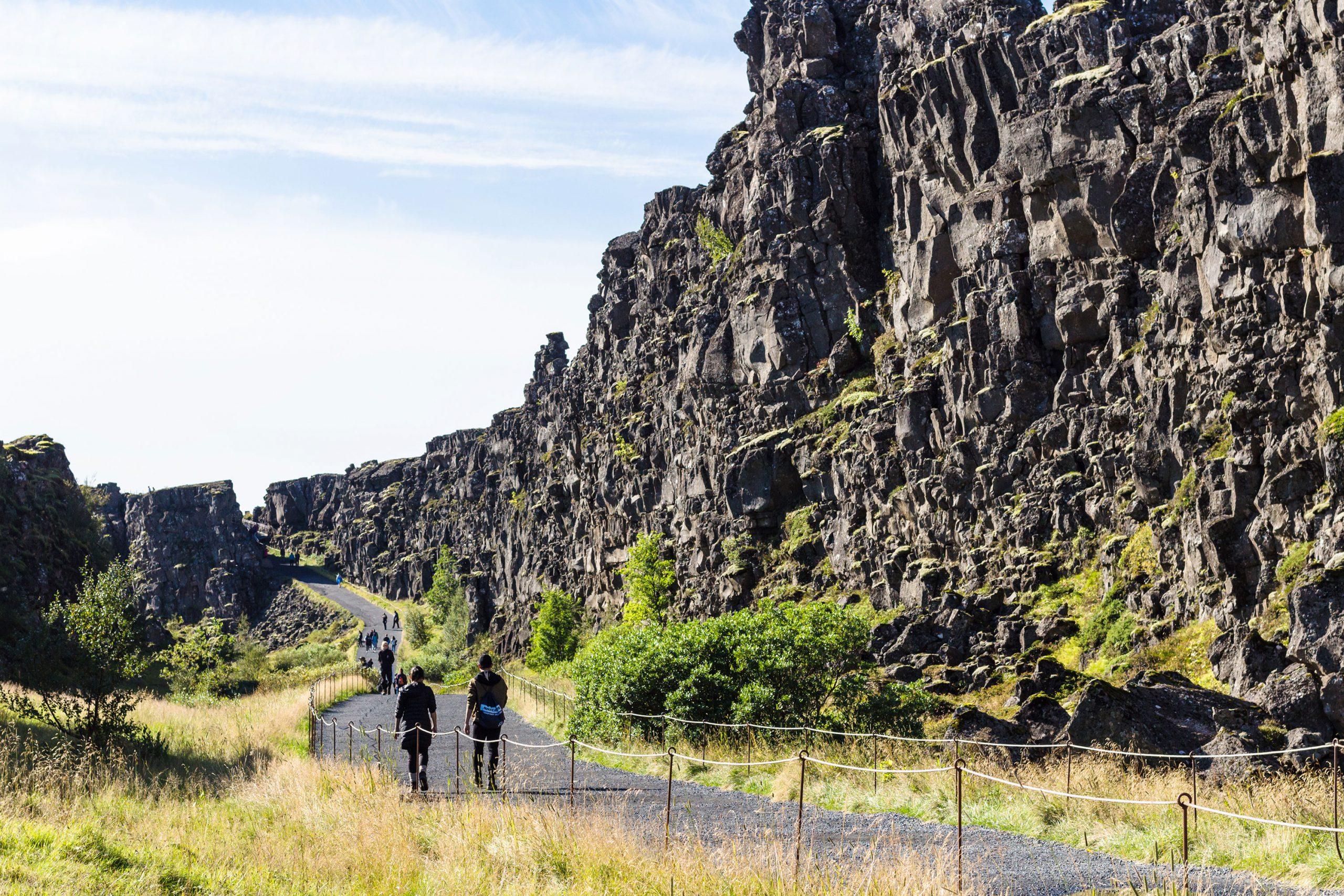 Thingvellir nasjonalpark Island Reykjavik Golden Circle Route