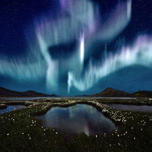 oppleve nordlyset Island Reykjavik organisert tur